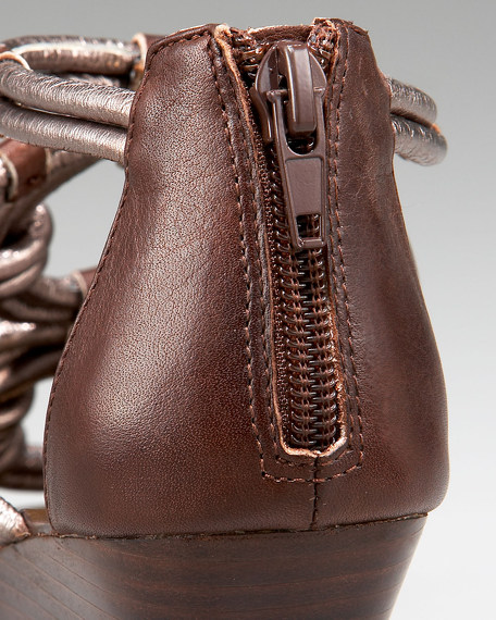 Risa Twist Wedge Sandal