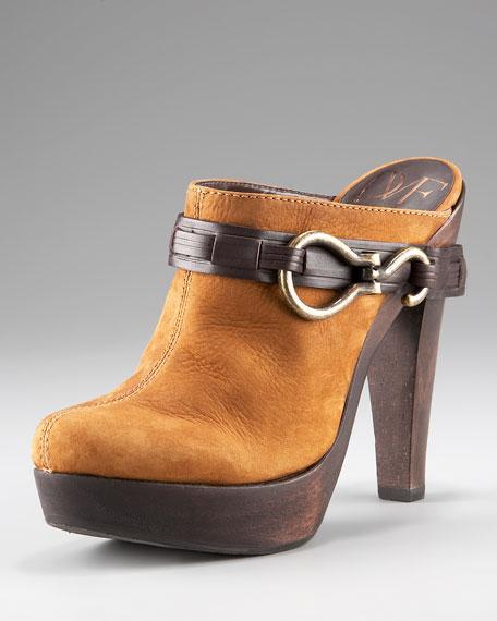 Fawn Harness Platform Clog