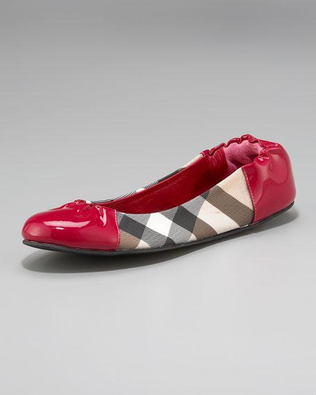 Nova Check Soft Ballerina Flat