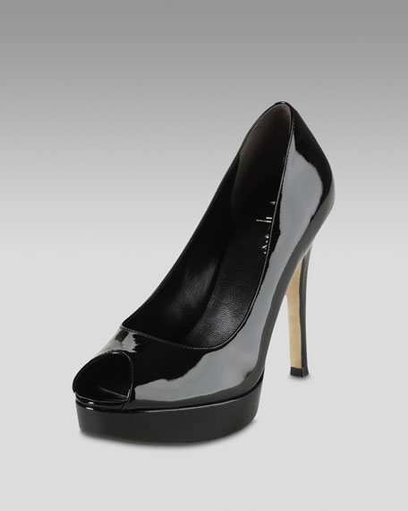 Mariela Air Patent Pump, Black