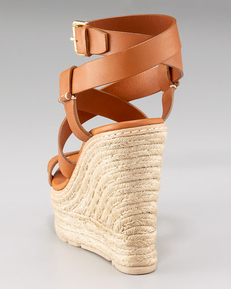 Fireena Ankle-Strap Espadrille