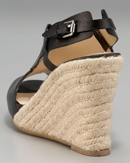 """X""-Padrille Wedge Sandal"