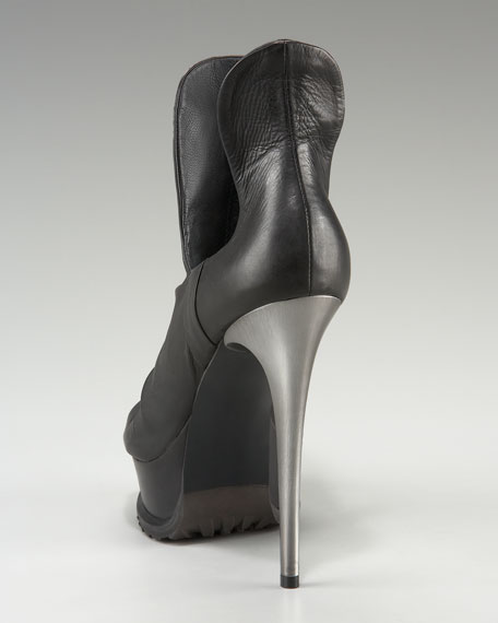 Buffy Runway Leather Bootie