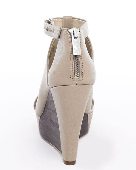 Lara Cutout Wedge Sandal