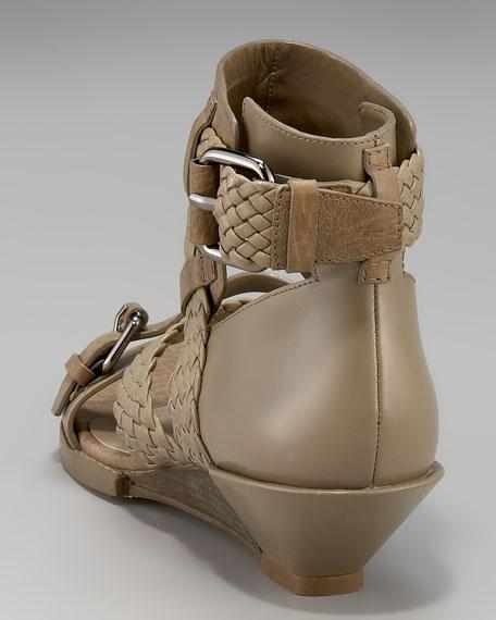 Eva Braid-Strap Sandal