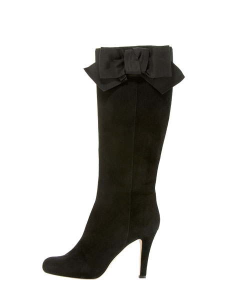 kolleen suede bow boot