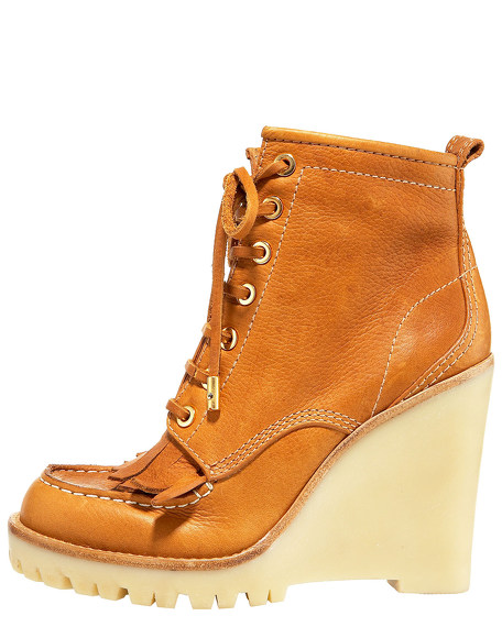 Howard Wedge Kiltie Lace-Up Bootie