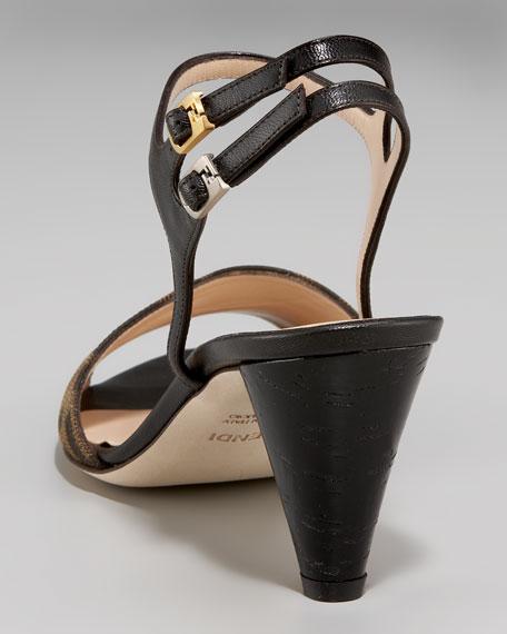 Zucca Runway Sandal