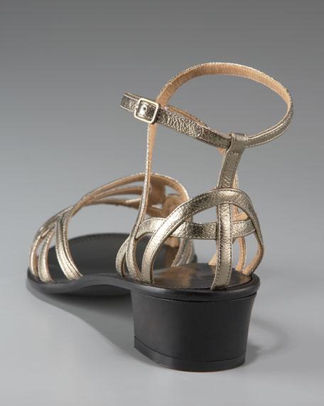 Chunky-Heel Strappy Sandal