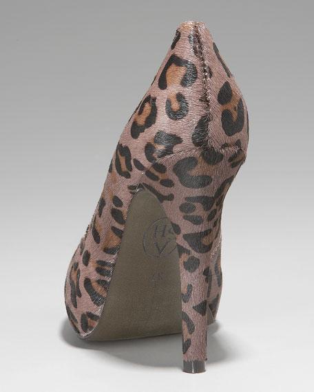 Eloise Leopard-Print Pump