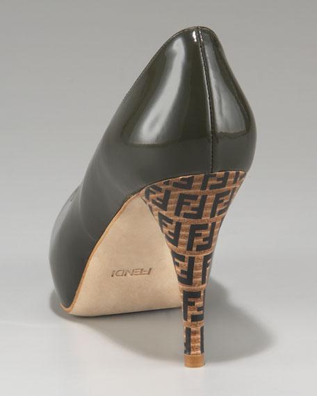 FF Superstar Zucca-Heel Patent Pump