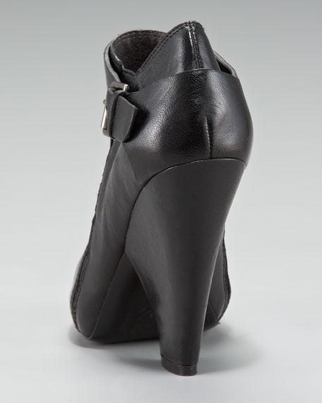 Chandra Peep-Toe Bootie