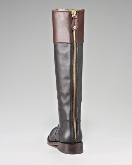 Reston Two-Tone Riding Boot