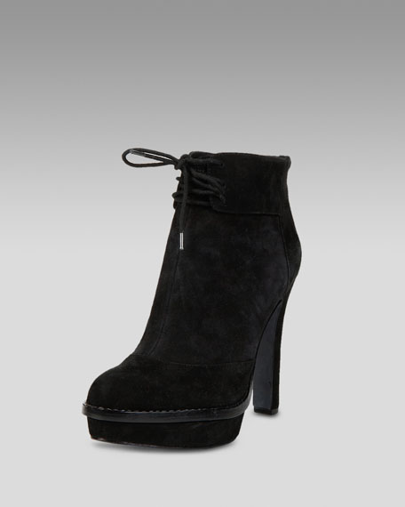 Lace-Up Ankle Boot