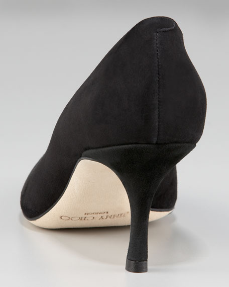 Lizzy Low-Heel Pointed Pump