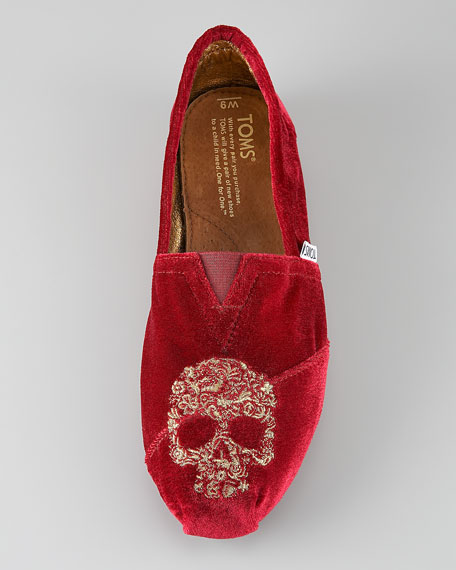 Beaumont Skull Slip-On