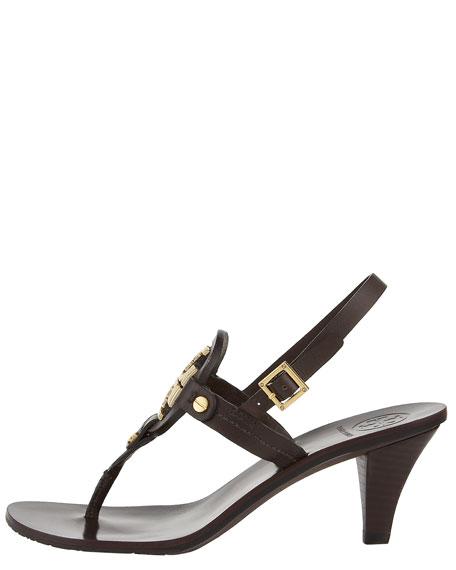 Holly Mid-Heel Thong Sandal