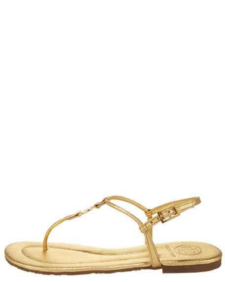 Emmy Flat Thong Slingback Sandal