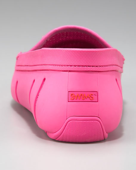 Rubber/Mesh Loafer, Pink