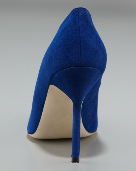 BB Suede High-Heel Pump