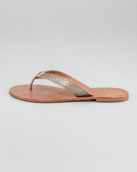 Thora Metallic Thong