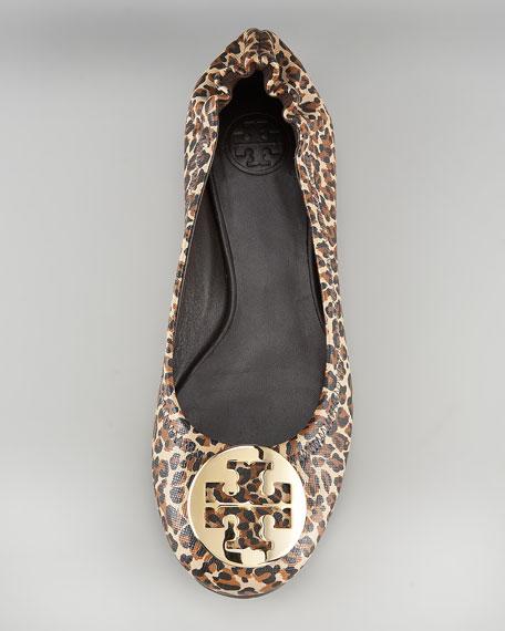 Reva Mini-Leopard Printed Ballerina