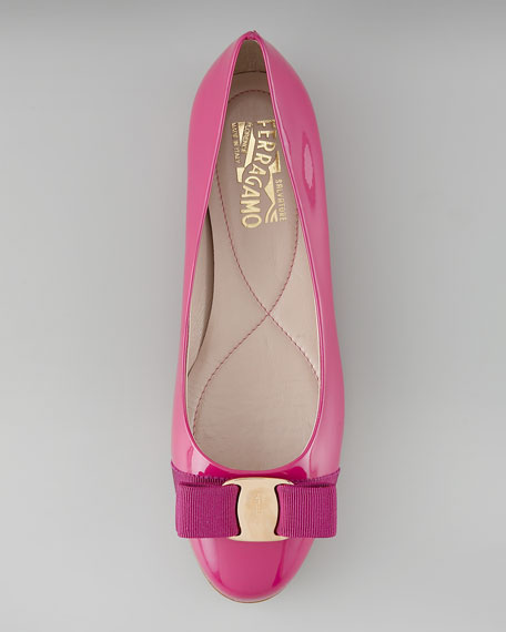 Varina Patent Ballerina Flat