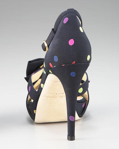 gemma dotted sandal