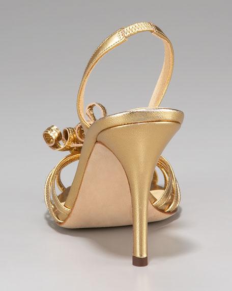 colby halter sandal, old gold