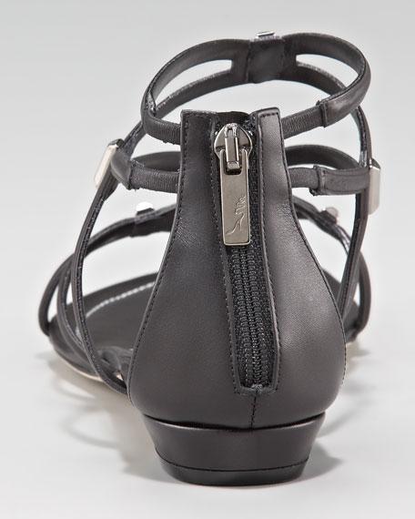 Crisscross Gladiator Thong Sandal
