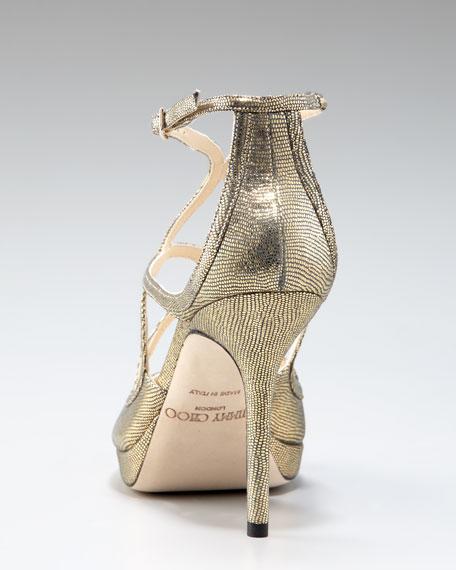 Dollis Crisscross Platform Sandal