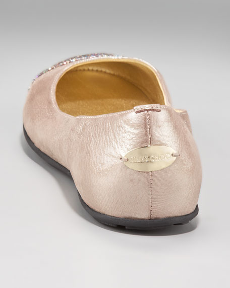 Whirl Glitter-Toe Ballerina