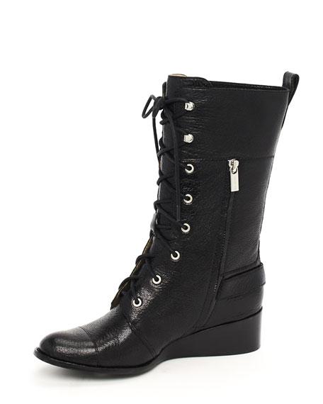 Woodley Combat Boot, Black
