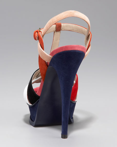 Colorblock Tribute Sandal