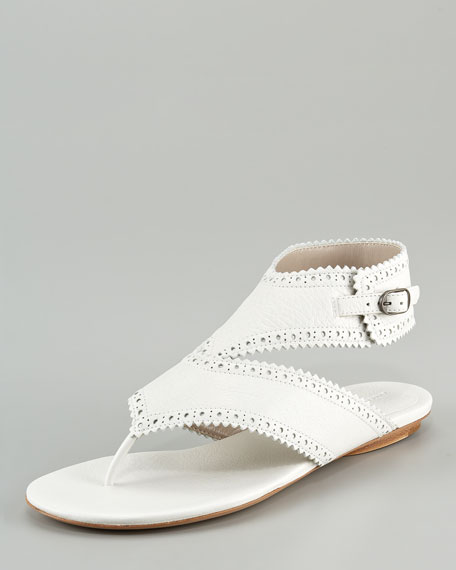 Covered Arena Sandal with Ankle Strap