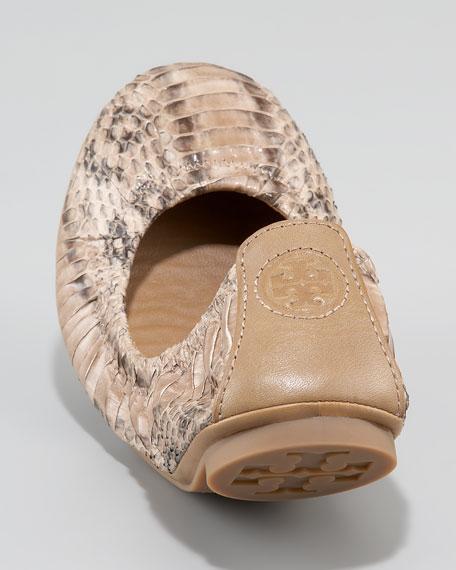 Eddie Watersnake Ballet Flat, Clay