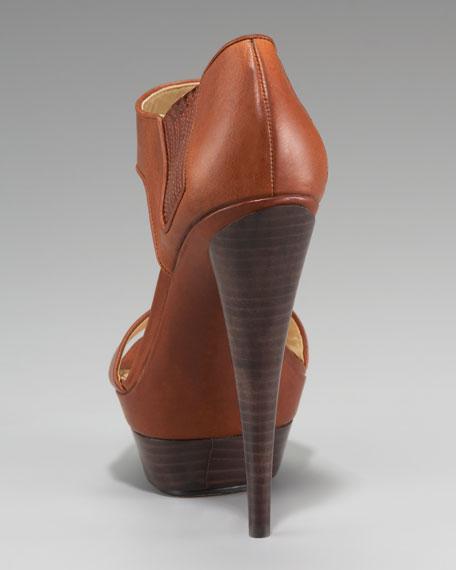 Gored Platform Sandal