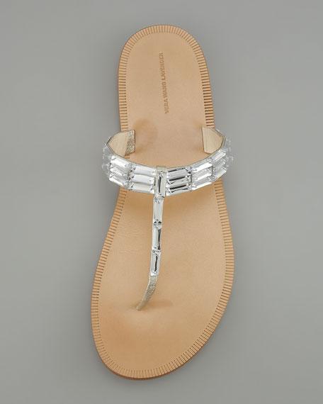 Rox Bejeweled Thong Sandal