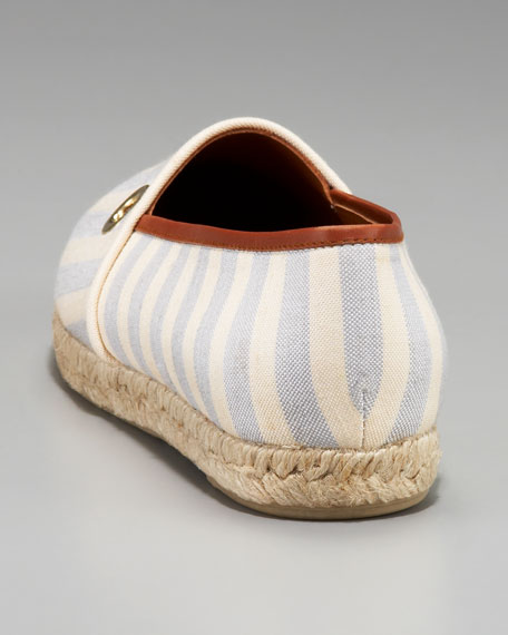 Adler Striped Espadrille Slip-On