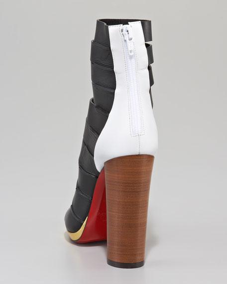 Decoupata Strappy Red Sole Boot