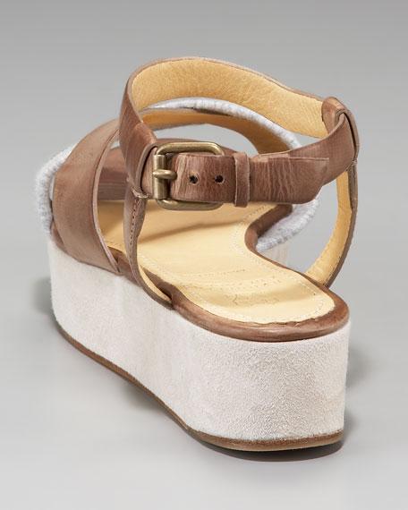 Combo Platform Sandal