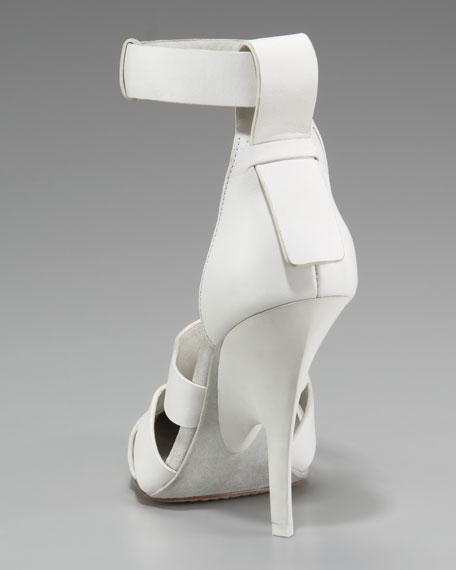 Joan Runway Ankle-Wrap Pump