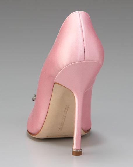 Hangisi Satin Pump, Light Pink