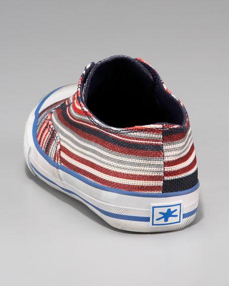 Striped Denim Sneaker