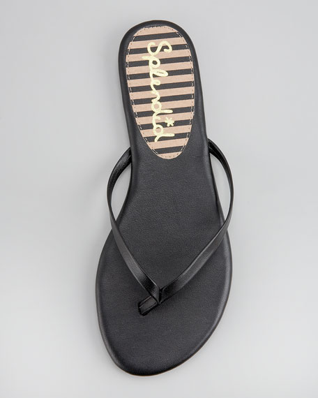 Madrid Leather Thong Sandal