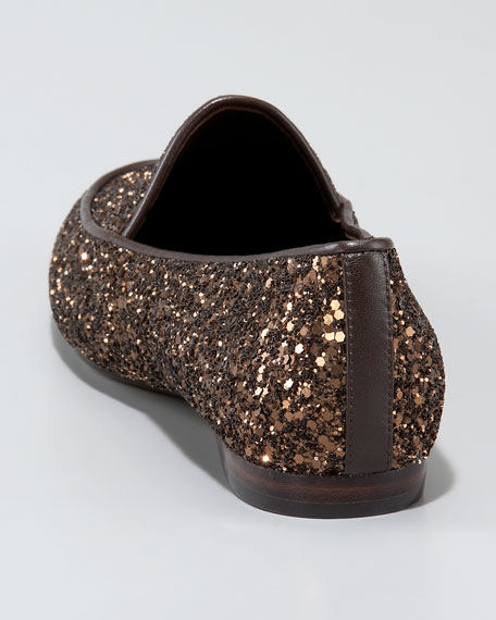 Glittered Slip-On Loafer