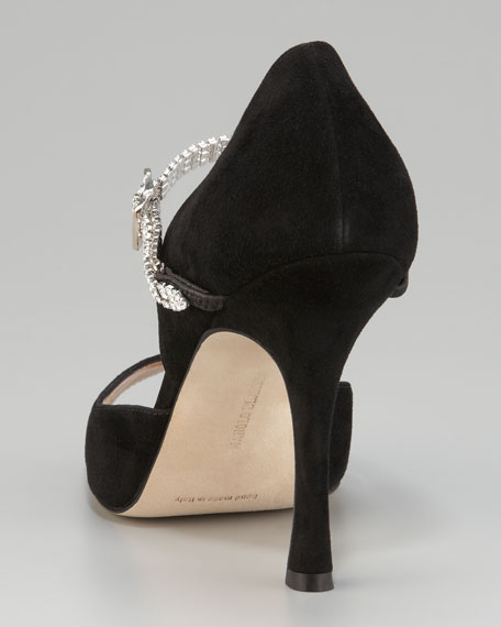 Maricrona Crystal-Strap d'Orsay
