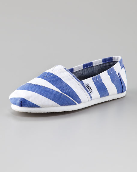 Beckett Vegan Striped Slip-On