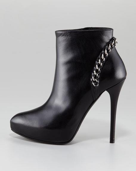 Becka Chain Heel Ankle Boot