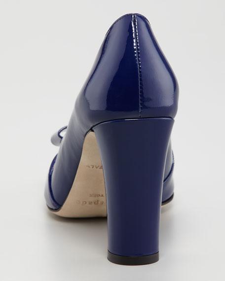marie bow-toe pump
